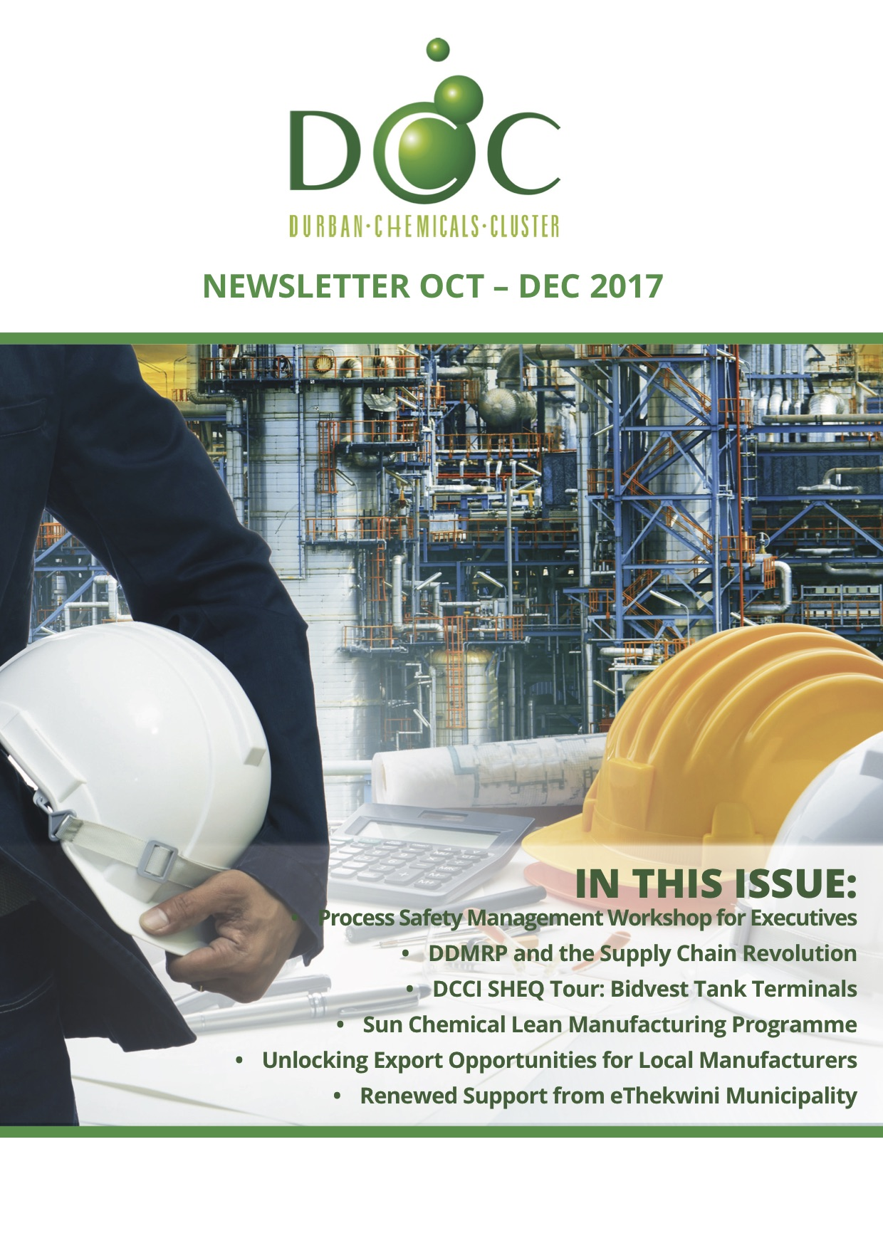 Newsletters | Durban Chemicals Cluster